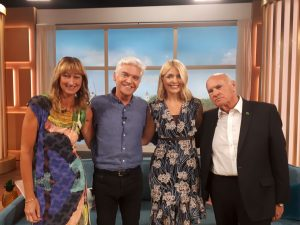 Martin and Marion appeared on the This Morning TV Show with Holly Willoughby and Philip Schofield. My Weigh Less